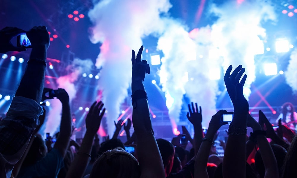 Liveübertragung für Konzerte & Festivals