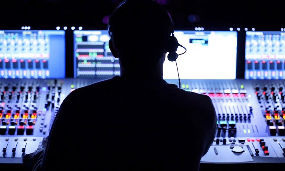 Liveübertragung mit professioneller Technik