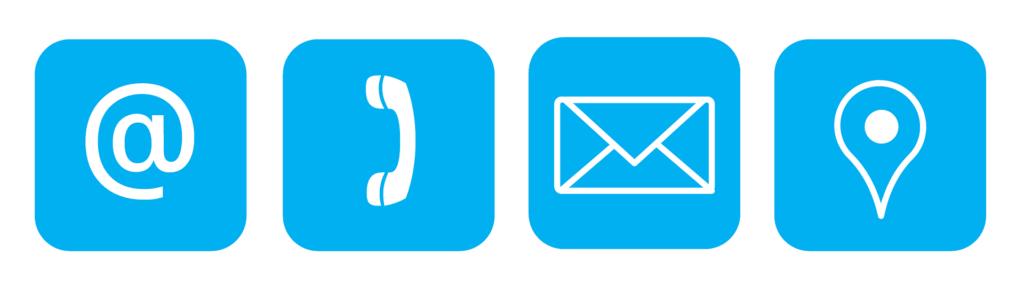Kontaktmöglichkeiten Email Telefon Brief GPS