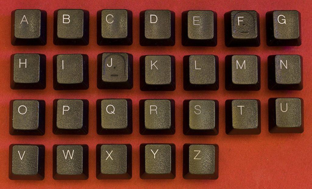 Tastatur Buchstaben Alphabet
