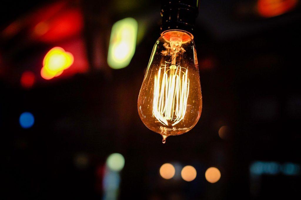 Licht Glühbirne
