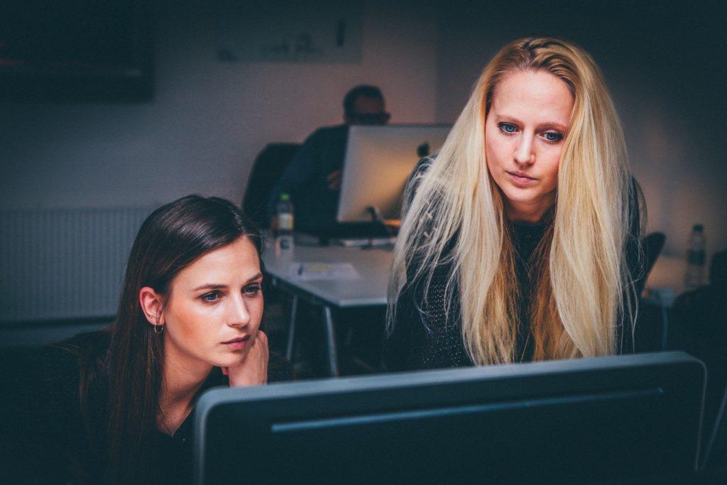 Frauen Teamwork